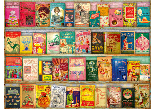 Ravensburger Vintage cookbooks - 500 pieces