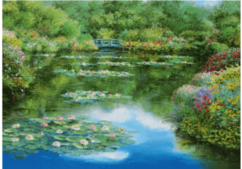 Water Lily Pond - 1000 pieces