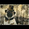 Schmidt Steampunk Hond - puzzel van 1000 stukjes