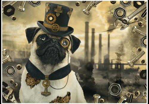 Schmidt Steampunk Hond - 1000 stukjes