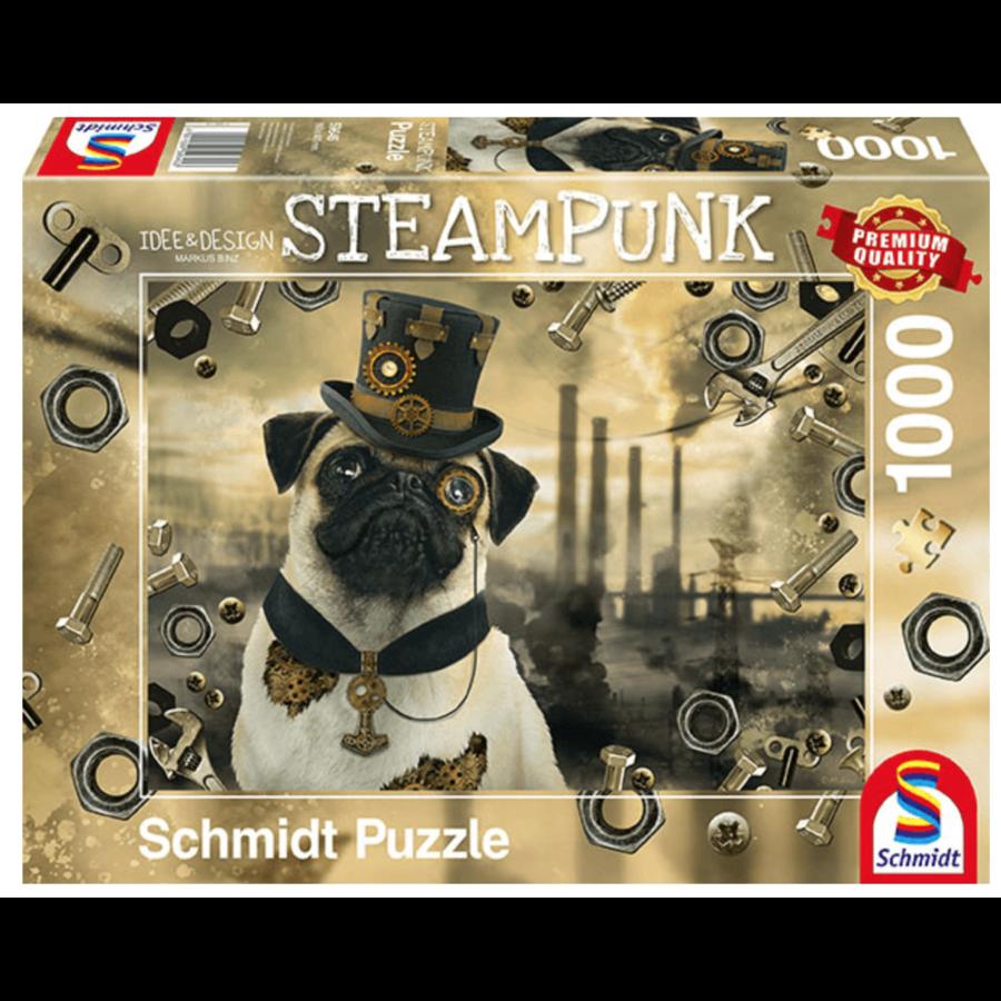 Steampunk Hond - puzzel van 1000 stukjes-2