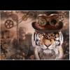 Schmidt Steampunk Tijger - puzzel van 1000 stukjes