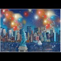 thumb-Vuurwerk bij het Vrijheidsbeeld - 1000 stukjes-1