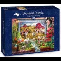 thumb-Peinture de la ferme magique  - puzzle de 1000 pièces-2
