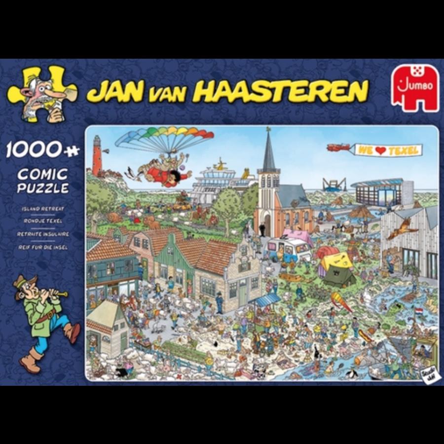 Rondje Texel - JvH - 1000 stukjes-1