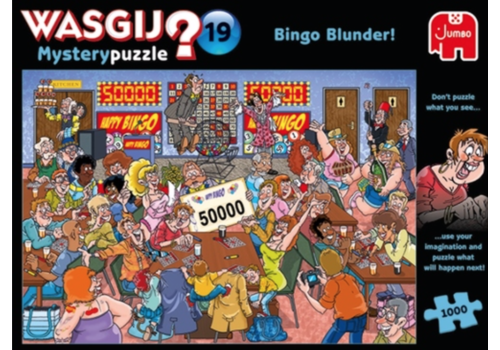 Jumbo Wasgij Mystery 19 - Bingo Blunder! - 1000 pieces