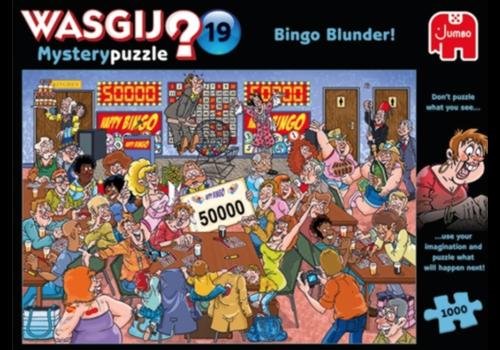 Jumbo Wasgij Mystery 19 - Bingo Blunder! - 1000 stukjes