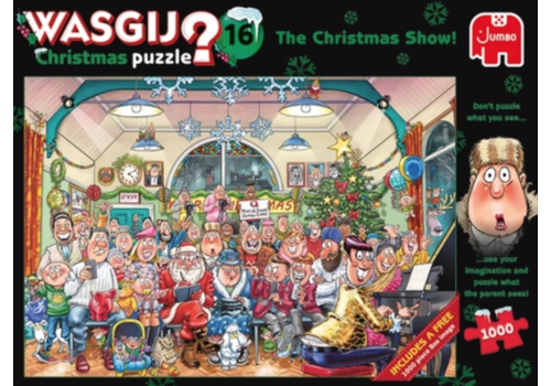 PRE-ORDER - Wasgij Noël 16 - 2 x 1000 pièces