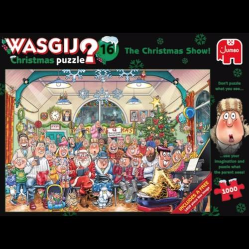 PRE-ORDER - Wasgij Christmas 16 - 2 x 1000 stukjes