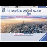 thumb-Ochtendgloren in Parijs - panoramische legpuzzel van 1000 stukjes-2