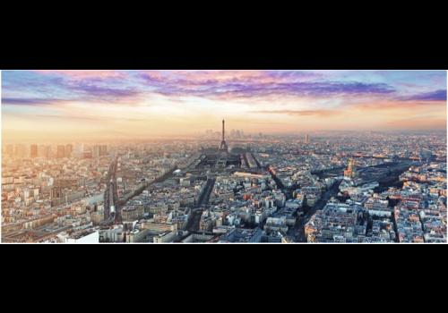Dawn in Paris - 1000 pieces panorama