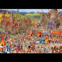thumb-Bunny Battle - Ruyer - puzzel van 1000 stukjes-1