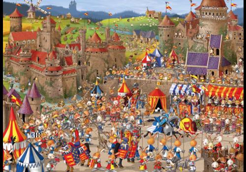 Heye Bataille de lapins - Ruyer - 1000 pièces