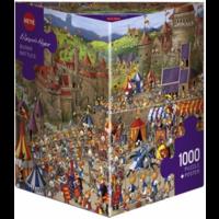 thumb-Bunny Battle - Ruyer - puzzel van 1000 stukjes-2