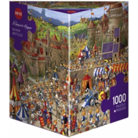 thumb-Bunny Battle - Ruyer - puzzle of 1000 pieces-2
