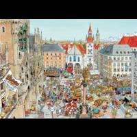 thumb-München - Fleroux -  puzzel van 1000 stukjes-2