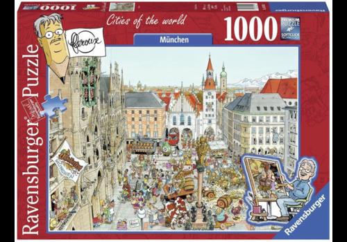 Ravensburger München - Fleroux - 1000 stukjes