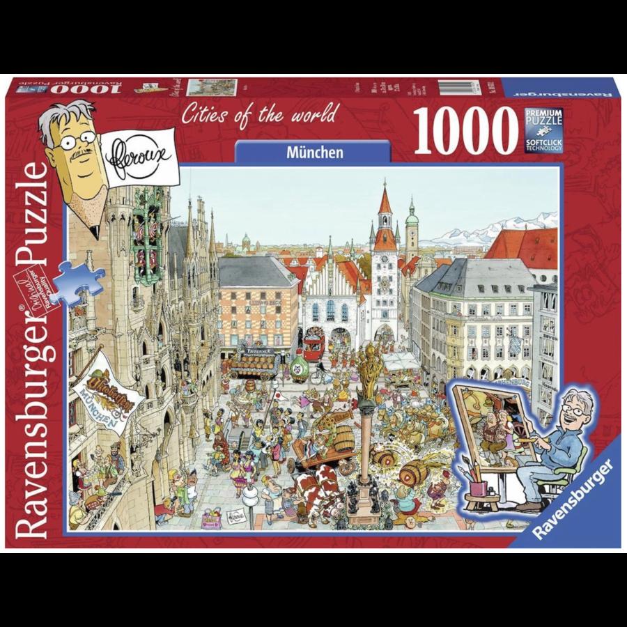 München - Fleroux -  puzzel van 1000 stukjes-1