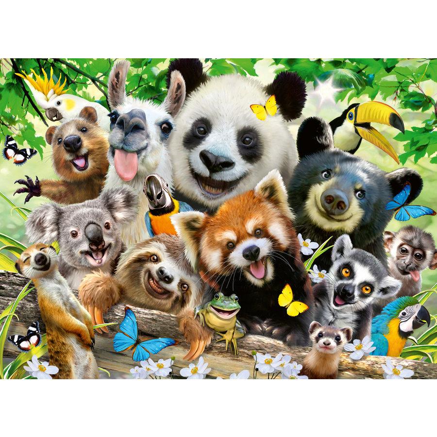 Wildlife selfie - 300 stukjes-1
