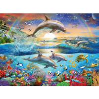 thumb-Le paradis des dauphins - 300 pièces-1
