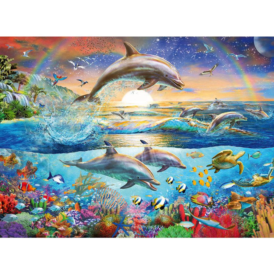 Le paradis des dauphins - 300 pièces-1