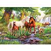 Ravensburger Wilde paarden bij de rivier  - 300 stukjes