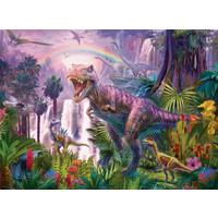 thumb-Pays des dinosaures - Puzzle de 200 pièces-1