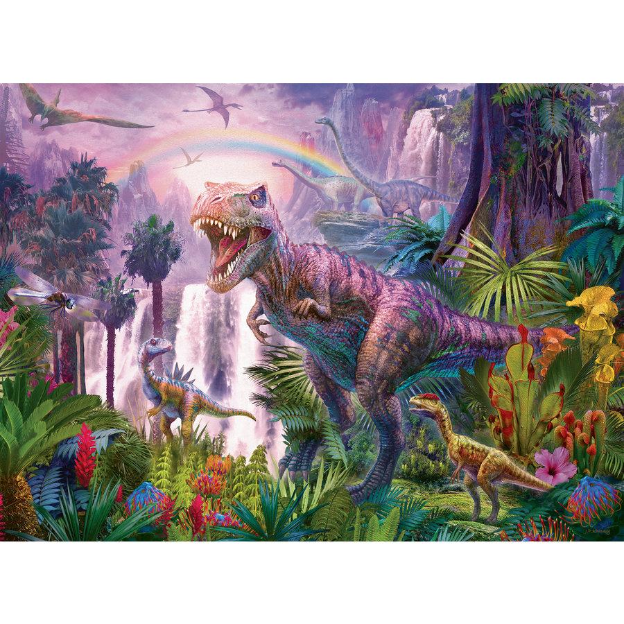 Land van de dinosauriërs - puzzel van 200 stukjes-1