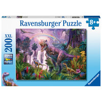 thumb-Land of Dinosaurs - 200 pieces puzzle-2
