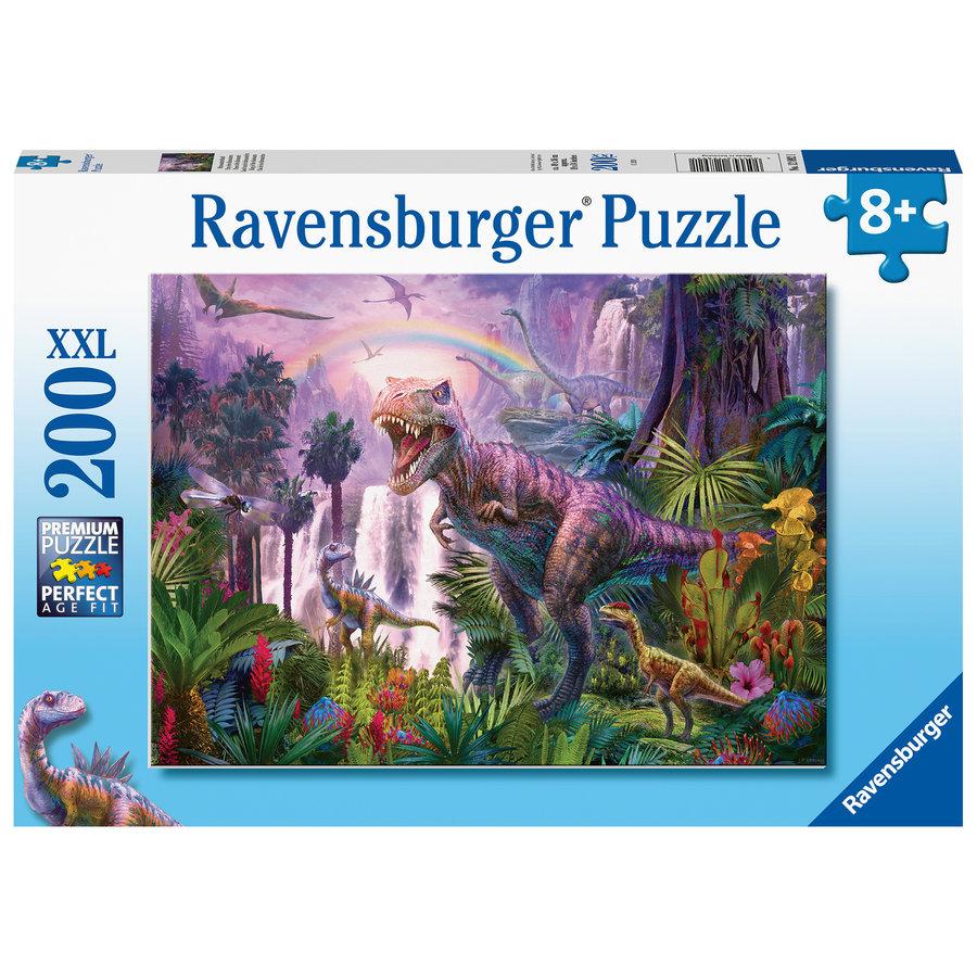 Land van de dinosauriërs - puzzel van 200 stukjes-2