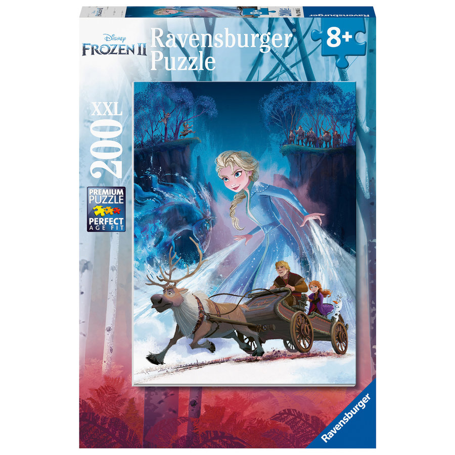 Frozen 2 - puzzel van 200 stukjes-2