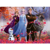 thumb-Disney Frozen - puzzel van 100 stukjes-1