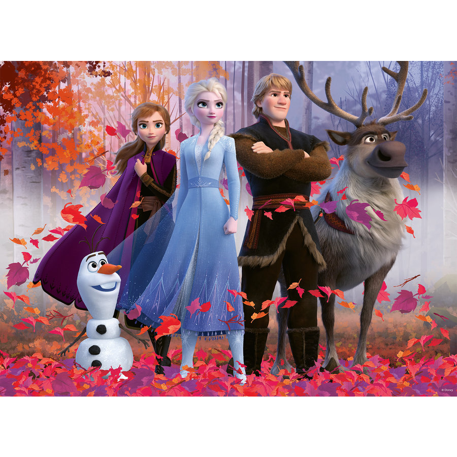 Disney Frozen - puzzle of 100 pieces-1
