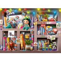 thumb-Disney - Bookcase -  puzzle of 100 pieces-2