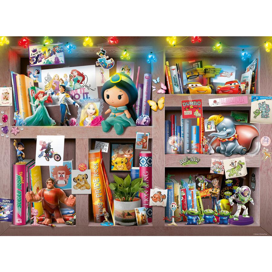 Disney - Bookcase -  puzzle of 100 pieces-2