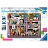 Ravensburger Disney - Bookcase -  puzzle of 100 pieces