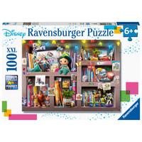 thumb-Disney - Bookcase -  puzzle of 100 pieces-1