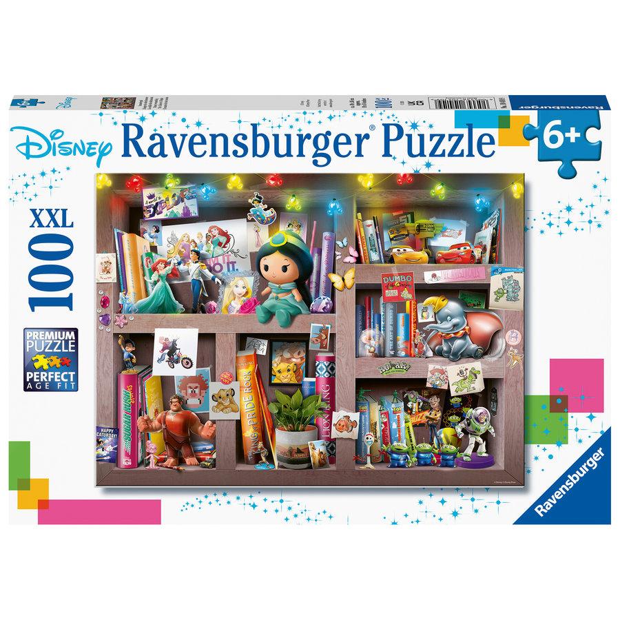 Disney - Bookcase -  puzzle of 100 pieces-1