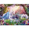 Ravensburger Magic unicorns - puzzle of 100 pieces