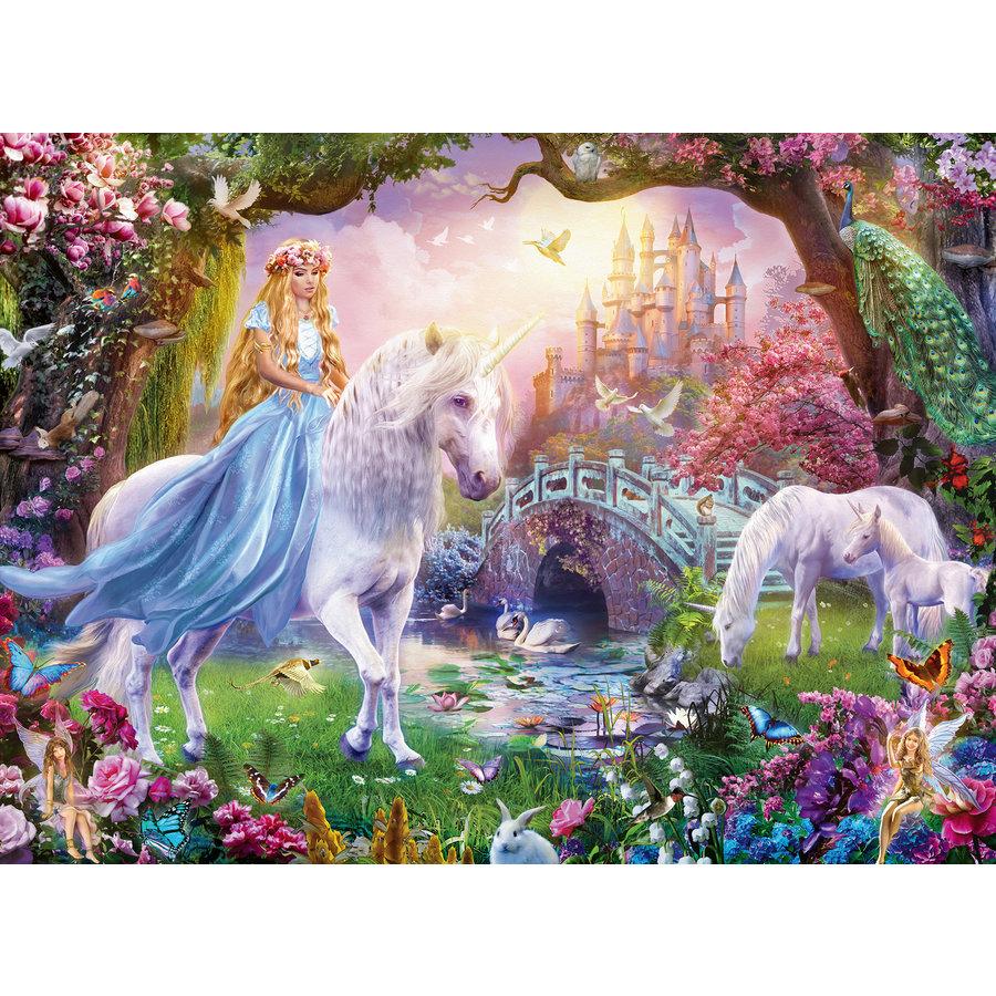 Magic unicorns - puzzle of 100 pieces-1