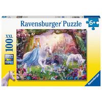 thumb-Magic unicorns - puzzle of 100 pieces-2