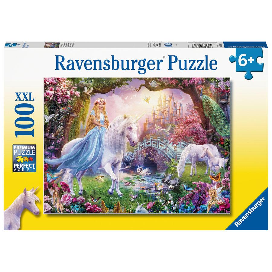 Magic unicorns - puzzle of 100 pieces-2