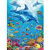 Ravensburger Dolphin Encounter - puzzle of 100 pieces