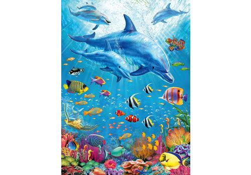Ravensburger Bijeenkomst van de dolfijnen - 100 stukjes