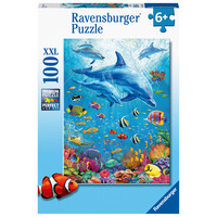 thumb-Dolphin Encounter - puzzle of 100 pieces-2