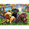 Ravensburger Pique-nique des chiens - puzzle de 100 pièces