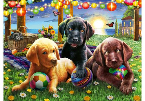 Ravensburger Honden picknick - 100 stukjes