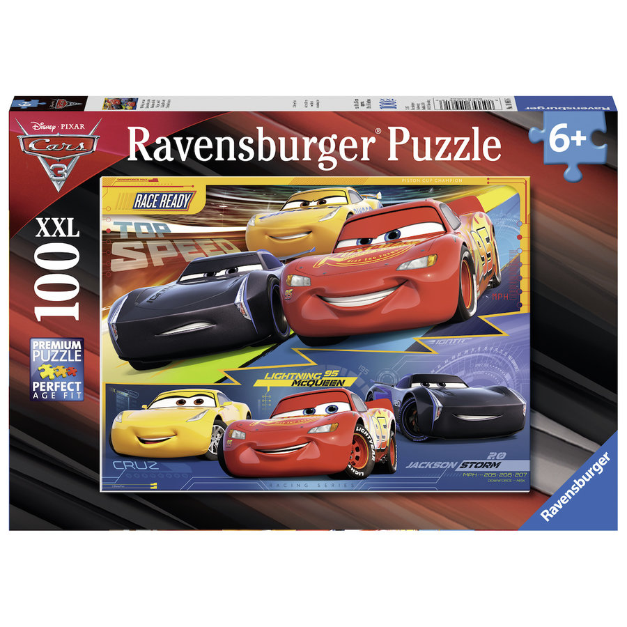 Disney Cars - puzzel van 100 stukjes-1
