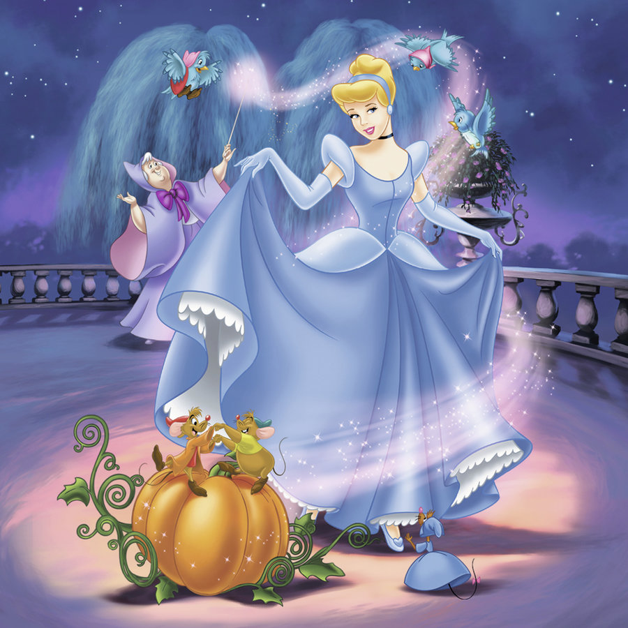Disney Princesses   - 3 puzzles of 49 pieces-2
