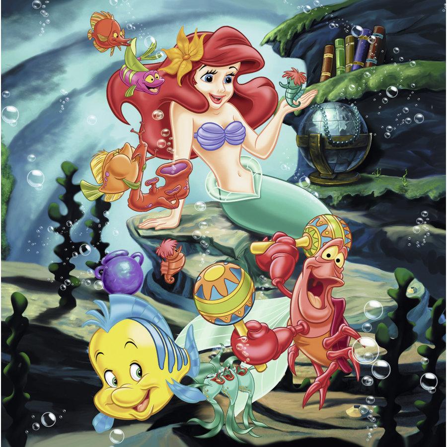 Disney Princesses   - 3 puzzles of 49 pieces-3